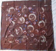 Joli foulard en coton et soie vintage Scarf 90 cm x 90 cm scarf /
