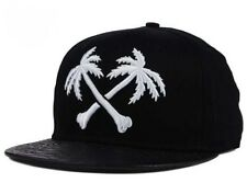 BLVD Supply Crossbones Men's Adjustable Snapback Cap Hat - MSRP: $39.99