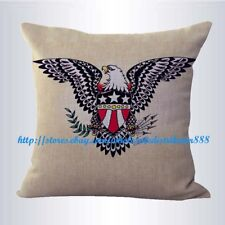 US SELLER- Sailor Jerry tattoo American eagle cushion cover decorative pillows