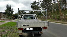 Ute / trailer Rack, ladder Rack, Component KIT , Stainless fixings, DIY. EASY