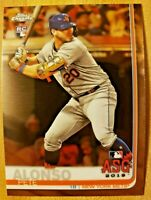(3) Card Lot 2019 Topps Chrome Update Series ASG RC Pete Alonso #86 NY Mets