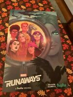 NYCC 2019 Marvel Runaways New York Comic Con Exclusive Poster Art Print NEW