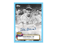 Stan Musial 100th Birthday Celebration Card 4 - Sticker Autograph Card # to 22