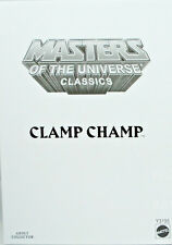 Masters Of The Universe Classics Clamp Champ 6 Inch Action Fg NM-MT White Mailer