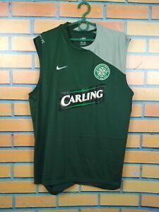 Celtic Jersey Training Seeveless LARGE Shirt Nike Football Soccer 258863-310