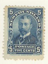 Newfoundland Stamp Scott # 85 5-Cents Duke of York MNG