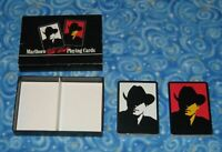 1991 New Sealed Marlboro Cigarettes Wild West Playing Cards 2 Decks Advertising