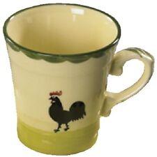 Zeller Keramik Kaffeeobere Hahn und Henne, 200 ml, Kaffeebecher Kaffepott