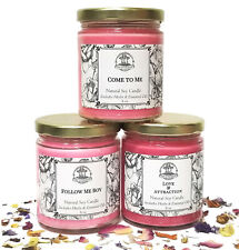 Love Candle Spell Set Attraction Seduction Passion Romance Wiccan Pagan Magick