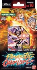 DRAGON BALL SUPER PARASITIC OVERLORD STARTER DECK 10 SEALED IN HAND