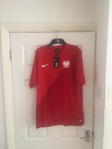Poland Large Away Football Shirt 2018-19 BNWT