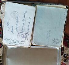 Feldpost, Konvolut von 250 Belegen mit Inhalt und 50 Umschlägen ohne