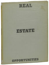 Real Estate Opportunities ~ ED RUSCHA ~ First Edition 1970 Edward LA Los Angeles