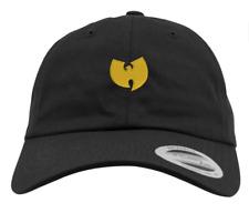 Original Yuoong Wu Tang Clan Dad Cap Wu Wear Cap schwarz 100% Cotton