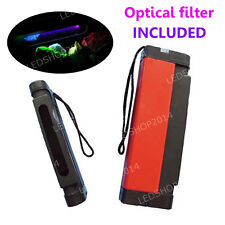 254nm Shortwave UV Light Detect Fluorescent Phosphor Minerals w/ Optical Filter