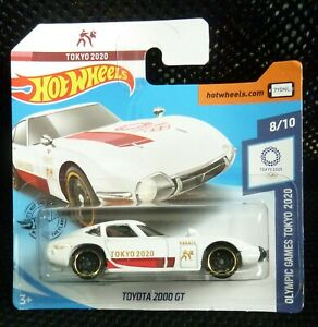 Hot Wheels 2020 Olympic Games Tokyo 2020 184/250 Toyota 2000 GT ( White )