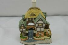 David Winter Cottages Wishing Falls with Box Artist Signed 1994