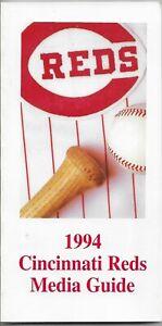 1994 CINCINNATI REDS MLB MEDIA GUIDE VINTAGE FREE SHIPPING