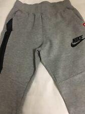 Boys Nike Tech Tracksuit Pants Grey Large