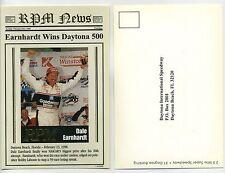 Dale Earnhardt 1998 Daytona 500 Winner -  Ballstreet RPM postcard