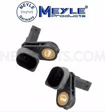 For Audi A3 TT VW CC Eos Pair Front Left & Right ABS Wheel Speed Sensors Meyle