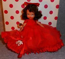 Vintage Queen Of Hearts Bisque Nancy Ann Storybook Doll #157 Box