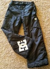 Youth Boy / Girl DC Exotex 3-5K Waterproof Ski Snow Snowboard Pants  Sz S Black