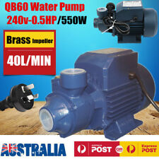 Electric Motor Clean Water Pump QB60 Garden Rain Tank Irrigation 1/2HP/220V/550W