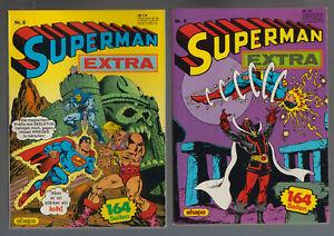 Superman Extra Taschenbuch Ehapa Nr. 1-11 komplett (0-1) - (0-1/1) Top