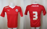Crawley Town 2011/2012 Home Size S Puma #3 football shirt jersey maglia camiseta