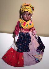 African American Vtg. Folk Art Doll
