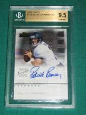2002 Finest Patrick Ramsey Autograph Rookie Card - BGS 9.5 (with 1 - 10)