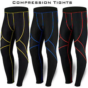 Mens Compression Tights Yoga Running Gym Trousers Casual Wear Activewear DBXGEAR