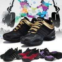 Fashion Women Comfy Modern Jazz Hip Hop Dance Shoes Breathable Sneakers #