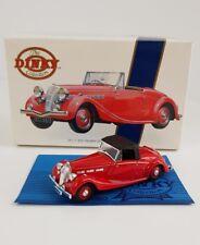 MATCHBOX DINKY 1939 TRIUMPH DOLOMITE RED 1/43 DYS17