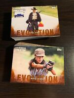 Topps The Walking Dead Evolution Parallel Base Card Set Cards 1 - 100