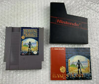 Times of Lore (Nintendo Entertainment System) NES Tested w/ Manual Authentic