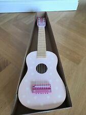 JaBaDaBaDo: Neue Kindergitarre aus Holz mit Sternen in Rosa (ca. 60cm)