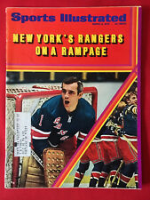 VINTAGE SPORTS ILLUSTRATED MARCH 2ND 1970 NEW YORK RANGERS