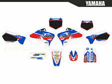 Yamaha YZ 125 250 1996 1997 1998 1999 2000 2001 Motocross Graphics Kit Decals MX