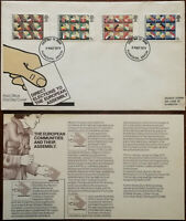 Direct Elections to the European Assembly First Day Cover + Insert 1979
