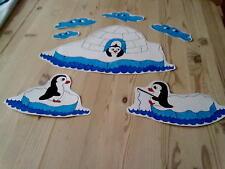 Window Color Bild Pinguine