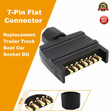 82141BL Narva 7 Pin Flat Quick Fit Trailer Plug