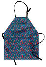Apron Unisex Bib with Adjustable Strap for Working by Ambesonne