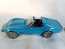 The Franklin Mint 1968 Chevrolet Corvette Die-Cast Metal Car- Collectible w/box