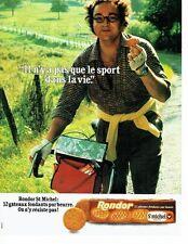 PUBLICITE ADVERTISING 0217  1979  les biscuits Rondor St Michel  gateaux
