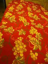 2m,50x1,3o,beau tissus épais pour nappe ou futur rideau ,reversible