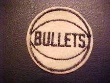 BALTIMORE BULLETS  Embroidered  Cap PATCH 2 inch 1960S