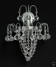 CRISTAL APPLIQUE MURALE LUSTRE de mur disponible en or sans chrom. Boules