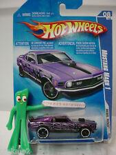 2009 i Hot Wheels Ford Mustang Mach 1 #144/166 ∞purple ☆ Rebel Rides